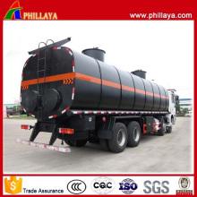 Asphalt Tank Transport Semi Trailer Heated Bitumen Tanker