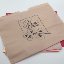 Customized Biodegradable Plastic Packing Tote Shopping Bags
