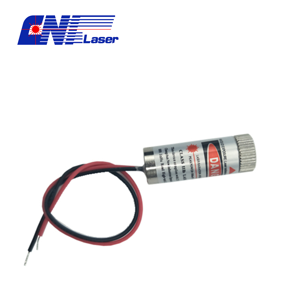 Red line laser module at 650nm