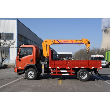 4 ton crane with truck