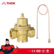 Válvula de latón de control de presión diferencial con actuador
