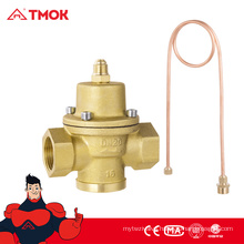 Differential Pressure Control Brass Valve with Actuator