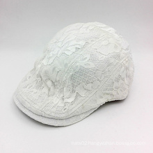 Leather Mesh Casual IVY Cap (YS001-A)
