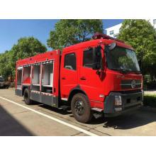 Camión de bomberos cisterna de agua de Dongfeng Tianjin