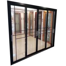 Soundproof modern house door design tempered glass sliding door philippines price