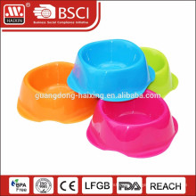 plastic pet bowl pet feeder for dog cat