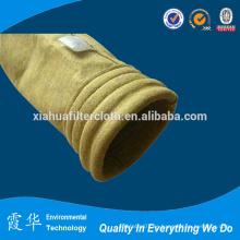 Bolsa de filtración de polvo de cemento a alta temperatura