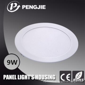 La alta calidad a presión la vivienda de la luz de techo del aluminio 9W LED de la fundición
