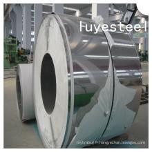 Bobine en acier inoxydable N04400 de bande DIN / en 2.4360 d'alliage de nickel