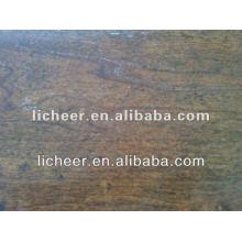 Piso Laminado registrado Handscraped superfície / Changzhou pavimentação