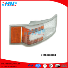 Double Color Corner Lamp 3981668 Volvo Heavy Truck Parts