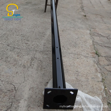 BR solar galvanized CE ISO steel poles galvanized machine street light poles price list