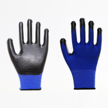 EN388 Colorful Wavy Nitrile Breathable Safety Gloves