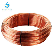 Hard Drawn Annealed Bare Copper Conductor Copper Earth Ground Wire
