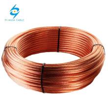Bare Copper Stranded copper wire low price 4 6 10 16 25 35 50mm2