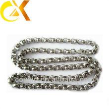 Collier en chaîne en acier inoxydable