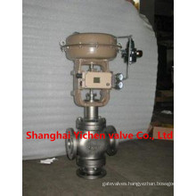 ABB Positioner Three-Way Pneumatic Diaphragm Control Valve