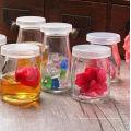 100ml Großhandel niedlichen Jam / Joghurt / Pudding Glas Jar / Flasche