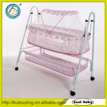 New design 2 in 1 cradle baby bed