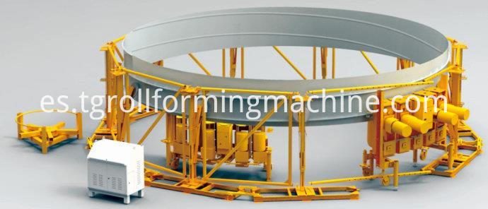 Lipp Spiral Seaming Type Silo Machine