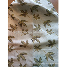 New arrival New leaf design curtain fabric