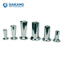 SKN042 seau de tasse de forceps de mesure médicale d'acier inoxydable de laboratoire d'hôpital