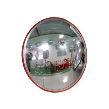 50cm Wholesale Unbreakable Orange Acrylic Plastic Indoor Theftproof Safety Convex Mirror, Buy Convex Mirror