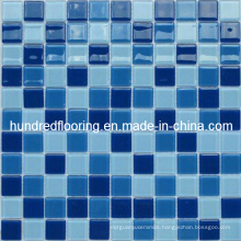 Crystal Glass Mosaic Swimming Pool Mosaic Tile (HSP305)