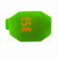Faceless Smooth Silicone LED Touch Screen Digital Watches (HAL-1273)