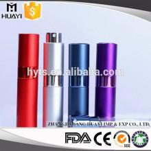 8ml/10ml fancy mini travel refillable aluminum perfume atomizer