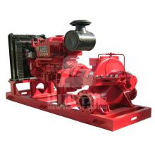Pompe de lutte contre l'incendie diesel / pompe à incendie diesel
