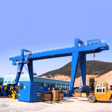 Efficient and safe Electric 35 ton new mobile traveling gantry crane