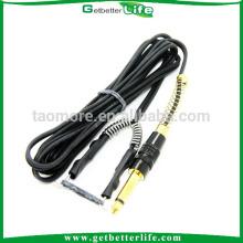 1.8M preto silicone Gel Clip cabo para alimentação de máquina de tatuagem