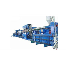 PVC/PE double wall corrugated pipe production line