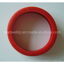 Fundición al vacío con piezas de goma blanda / productos de silicona (LW-05013)