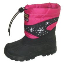 Популярные снежные сапоги / обувь для инъекций с нейлоном Оксфорд Верх (SNOW-190009)