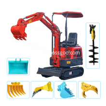 High performance crawler hydraulic mini excavator price