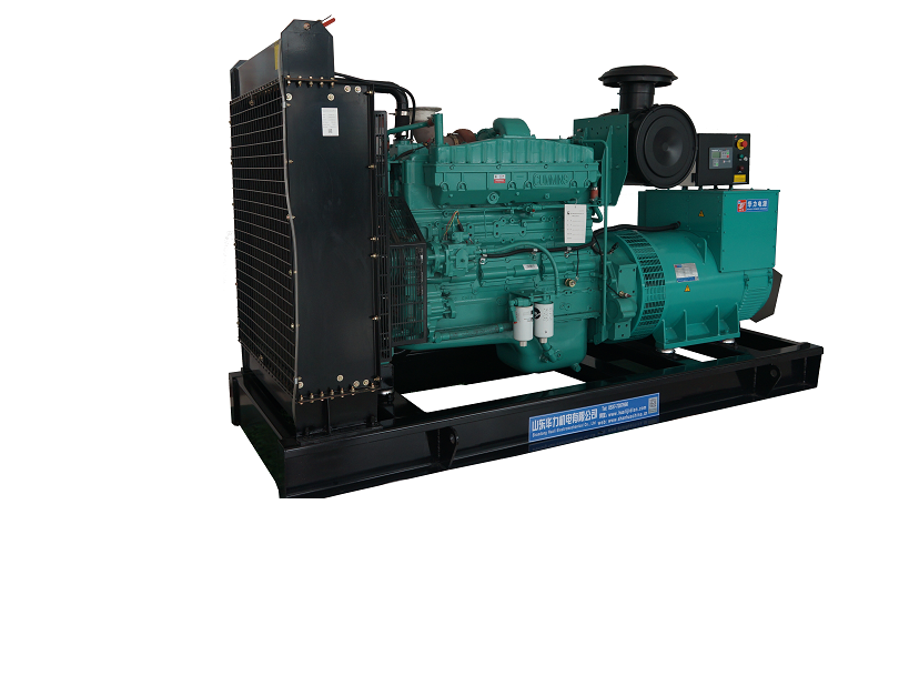 300KW imported CUMMINS generator set