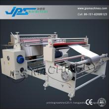 Coupe transversale de papier d'étiquette automatique