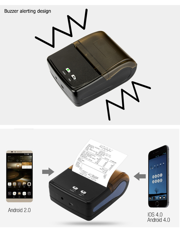 thermal printer Bluetooth 5801-2