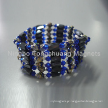 NdFeB pulseiras magnéticas para senhora