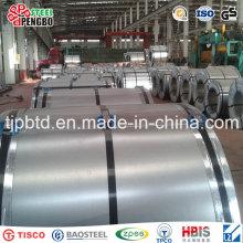 Bobine en acier galvanisée laminée à froid / feuille galvanisée / tôle d'acier galvanisée dans la bobine