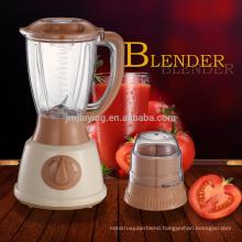 Popular Design Hot Sale 2 Speeds 1.5L Plastic Jar 2 In 1 Electric Powerful Blender