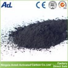 Polvo de carbón activado a base de madera para la industria química