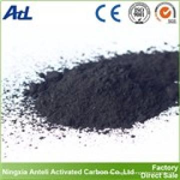 carbono activado en polvo de madera de grado alimentario utilizado en farmacia