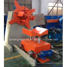 Décoiler hydraulique de la qualité Ce & ISO 3ton avec la voiture de chargement