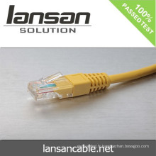 Lansan UTP cordon de raccordement BC Cat5e câble ROHS 4P * 26AWG 7 * 0.16mm passe échouée FLUKE test