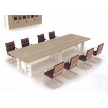 MELAMINE + METAL CONFERENCE DESK for style KM932