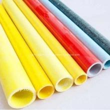 Tubo redondo redondo de FRP Pultrusion / tubo oco redondo de FRP