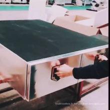 Boîte à outils de tiroir de rangement ute robuste en aluminium OEM